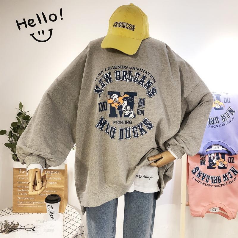 свободный большой размер Тондэмун осень новых женщин корейской Тондэмун осень новых корейских женщин свободный Top свитер свитер большого размера верхней