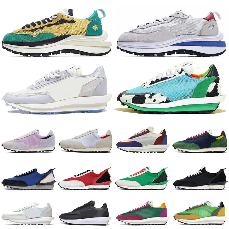 nike vaporwaffle waffle dior ben and jerrys daybreak Scarpe casual uomo donna des chaussures Scarpe da ginnastica sportive triple triple bianche bianche in nylon