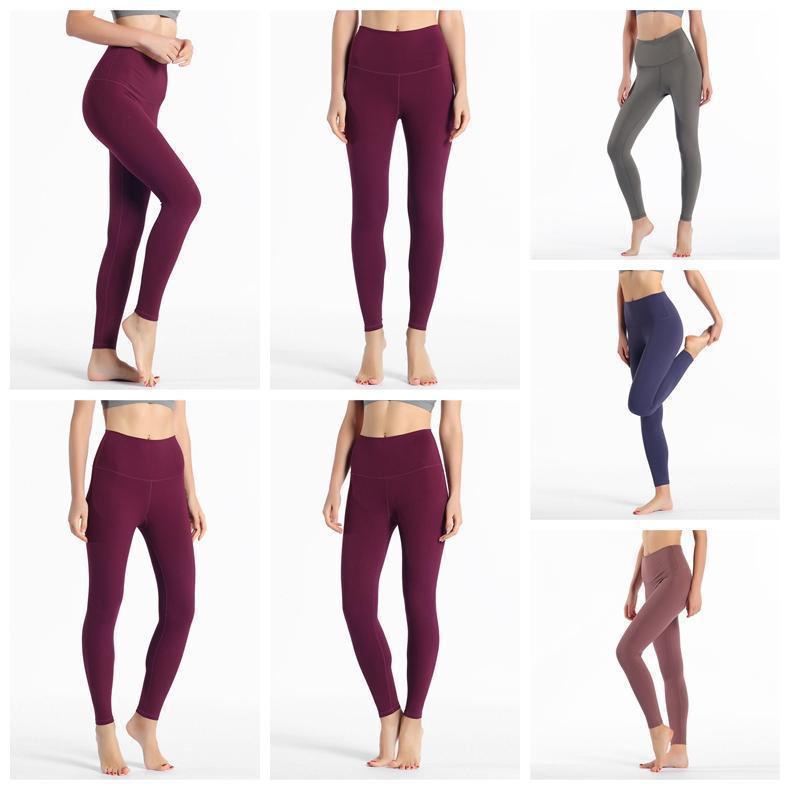 2020 Top-lu-32 Leggings Normallack lu Yoga weiß Symbol Hose 32 016 25 78 Frauen Sport Training nahtlose rosa camo yogaworld set 9995 Frauen #