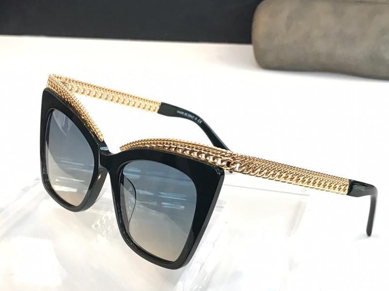 4336 Lunettes de soleil pour les femmes Fashion Designer populaire Protection UV style rétro oeil de chat Objectif cadre Free Top qualité Venez avec le paquet