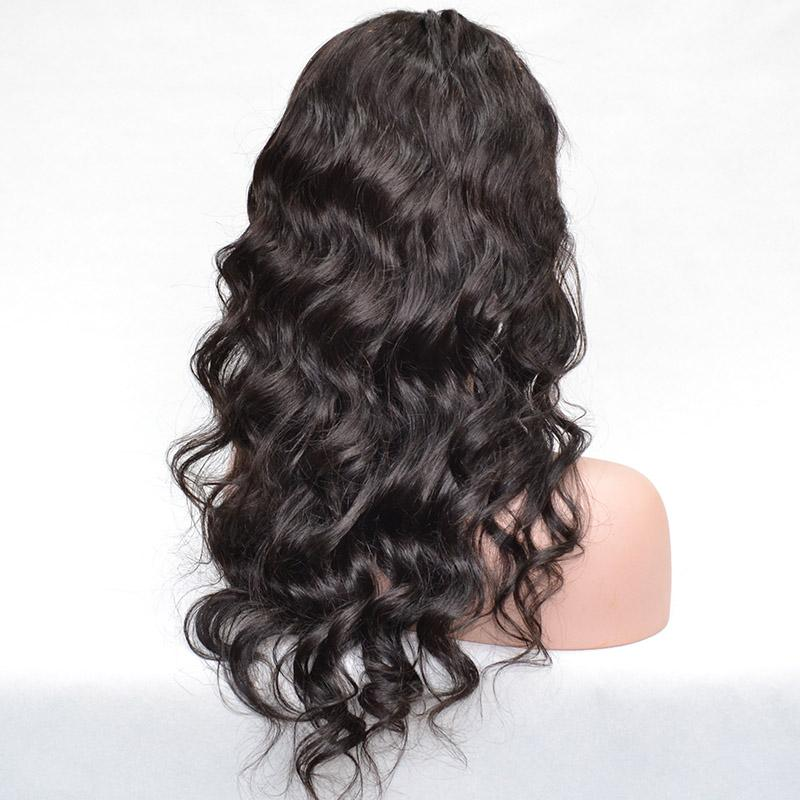 2020 Newess Type 150 Density Body Wave Full Lace Human Hair Wigs 360 Lace Frontal Human Hair Wigs For Black Women