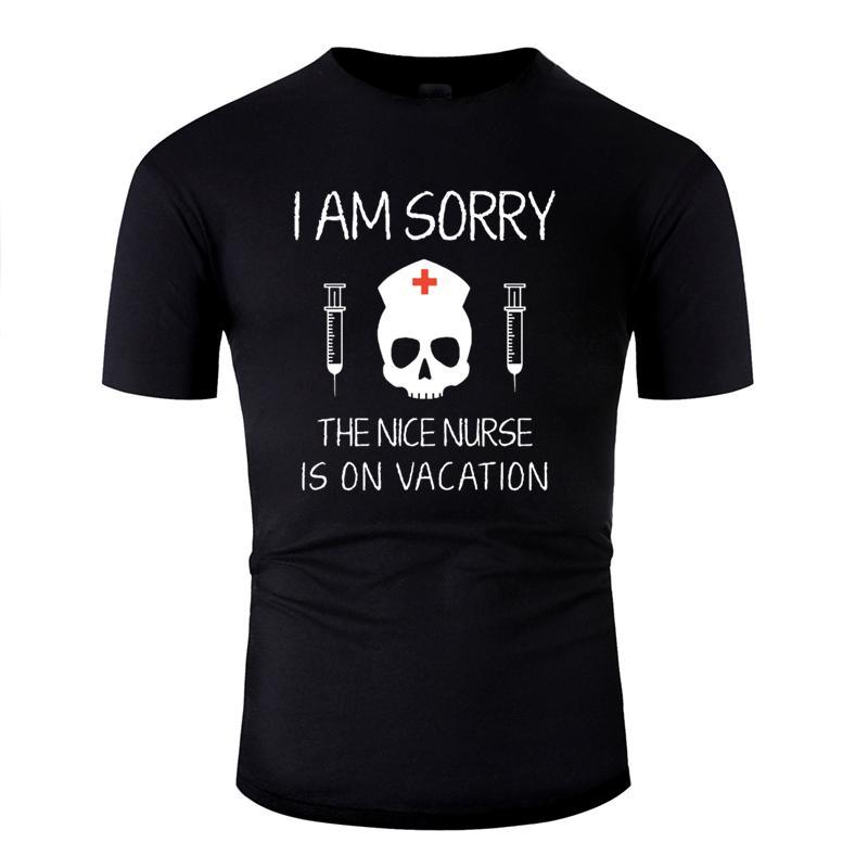 Casual lustige Casual Ich bedaure Krankenschwester Mutter-T-Shirt 2019 Einzigartige Sonnenlicht Männer T-Shirt Euro-Größe S-5xl Hiphop Top mit Rundhalsausschnitt