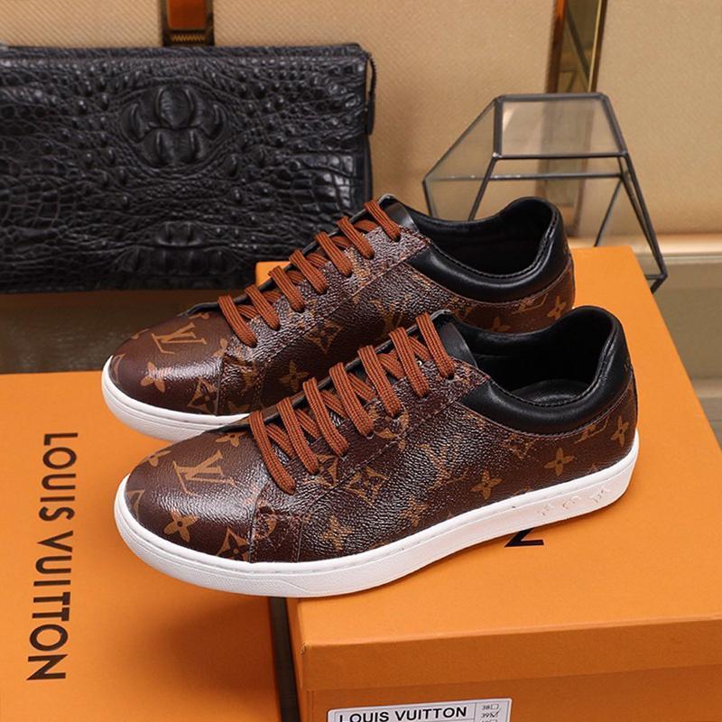 Luxemourg Sneaker Erkek Ayakkabı Vintage Moda Lüks Üst Kalite Footwears Sports Plus Boyut Dantel -Up Lüks Erkekler Ayakkabı Zapatos De Hombre