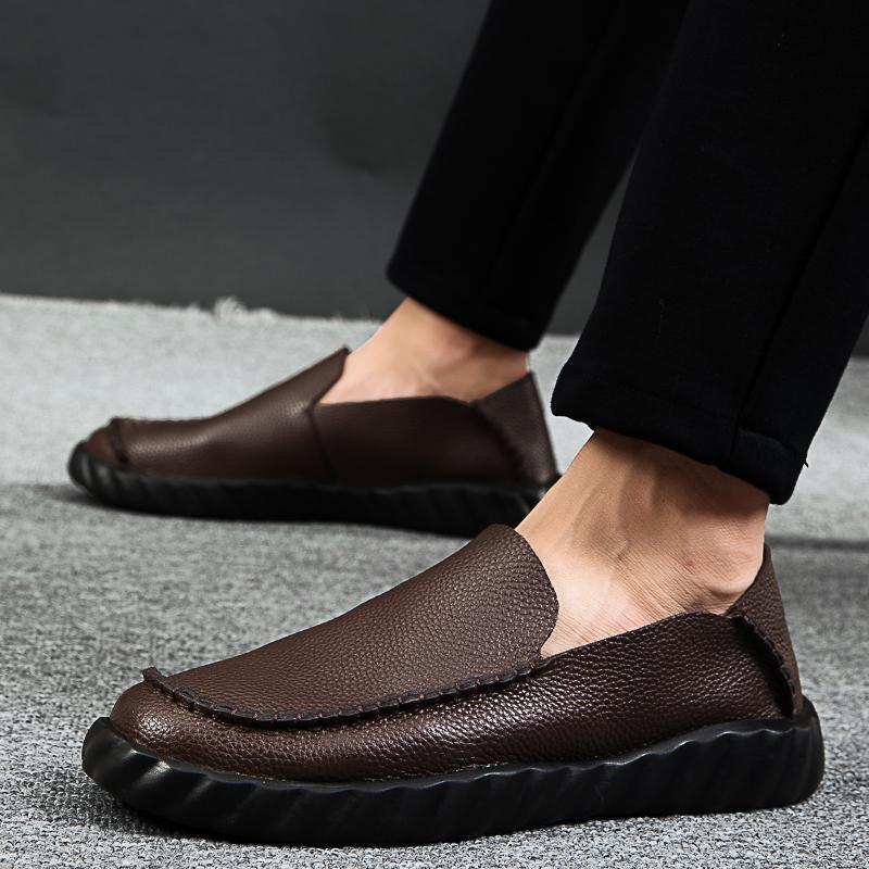 shoe masculino zapatos mens primavera maschio confortevole Mens causale svago de hombre scarpe da ginnastica Cuero piatto 2020 per informales calde