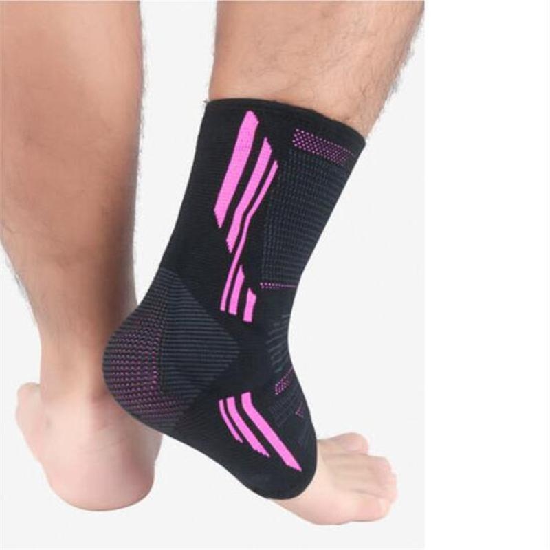 La compression élastique anti-Entorse cheville Chaussettes de sport Chevillère Tendon d'Achille Protecteur Support Sécurité Fitness Sports