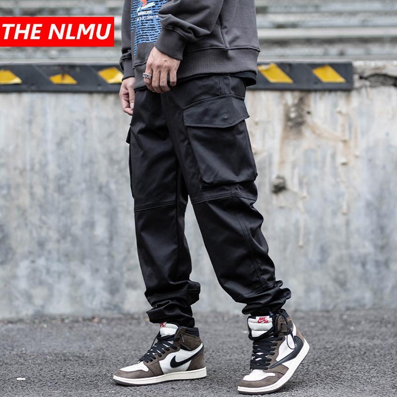 Compre 2020 Nuevos Hombres Negro Harem Pantalones Cargo Streetwear Hip Hop Punk Pantalones Tacticos Joggers Masculino Del Basculador Pantalones Ropa Wg922 T200728 A 27 92 Del Yizhan05 Dhgate Com