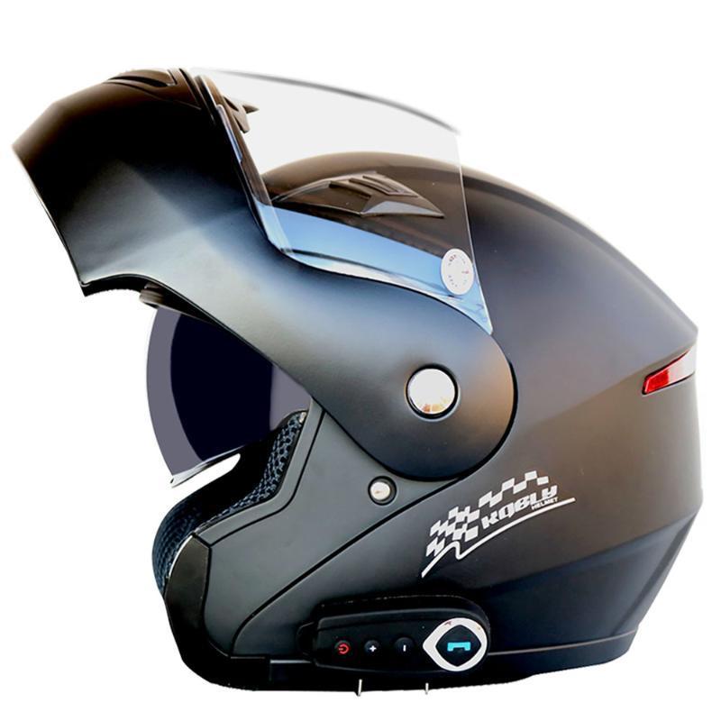 шлем Мотоцикл Мотоцикл Bluetooth шлем шоссейные Open Хорошее качество звука Поставляется с радио Время работы от аккумулятора