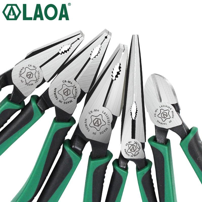 1шт LAOA CR-MO Пассатижи Long кусачками Рыбалка Клещи Кусачки для зачистки American Type Инструменты для электрика Y200321