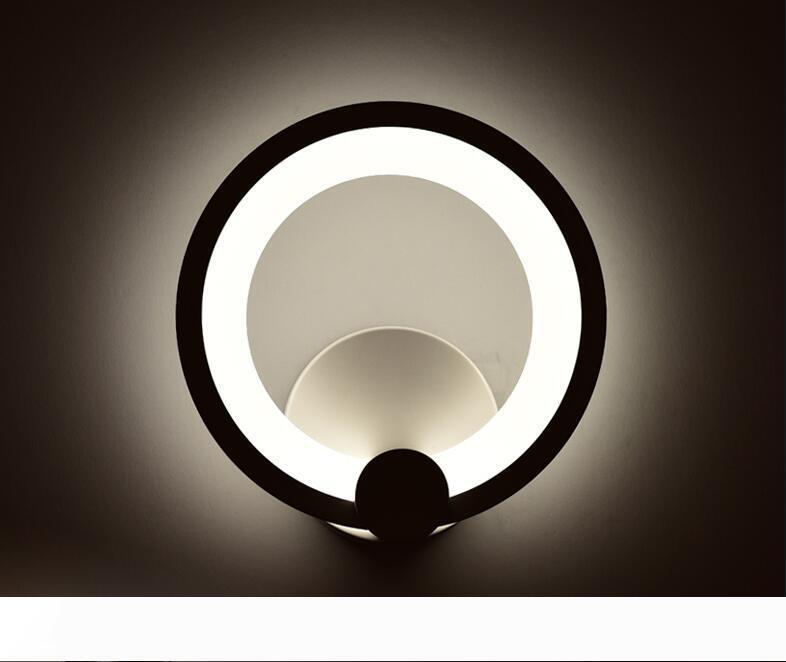 Appliques LED 12W 16W Salon plafond Chambre Lampes de mur intérieur de la lampe d'éclairage Modern Home Wall Light