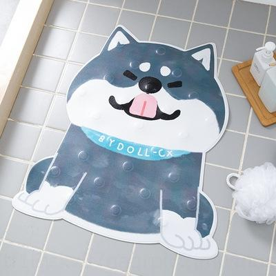 Península Bañera buen baño de dibujos animados antideslizante baños antideslizante alfombra de ducha estera pie bañera baño infantil