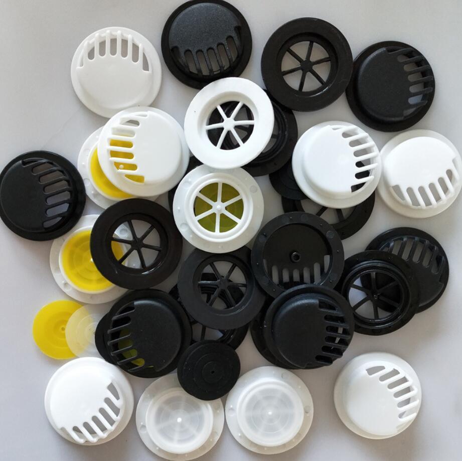 Ronde anti pollution visage bouche Filtre Accessoires Couverture Vannes Breathing Activated Carbon Haze Foggy antipoussière coupe-vent Couverture AHE368