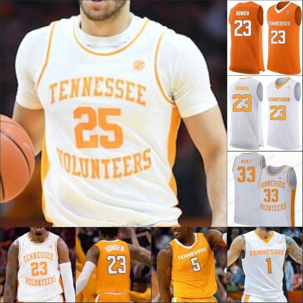Tennessee Volunteers Basketball genähten Jersey Gewohnheit jeder Name Nummer 1 Lamonte Turner 2 Grant Williams 5 Admiral 23 Bowden Schofield