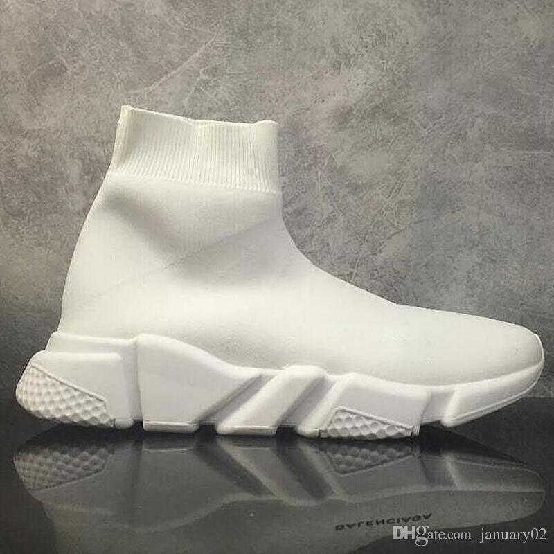 2020 zapatos casuales mejor calidad velocidad calcetín zapatos para hombre Mujeres tramo unida Mediados zapatillas de deporte Ligera zapatillas de deporte corrientes 35-46 G4B