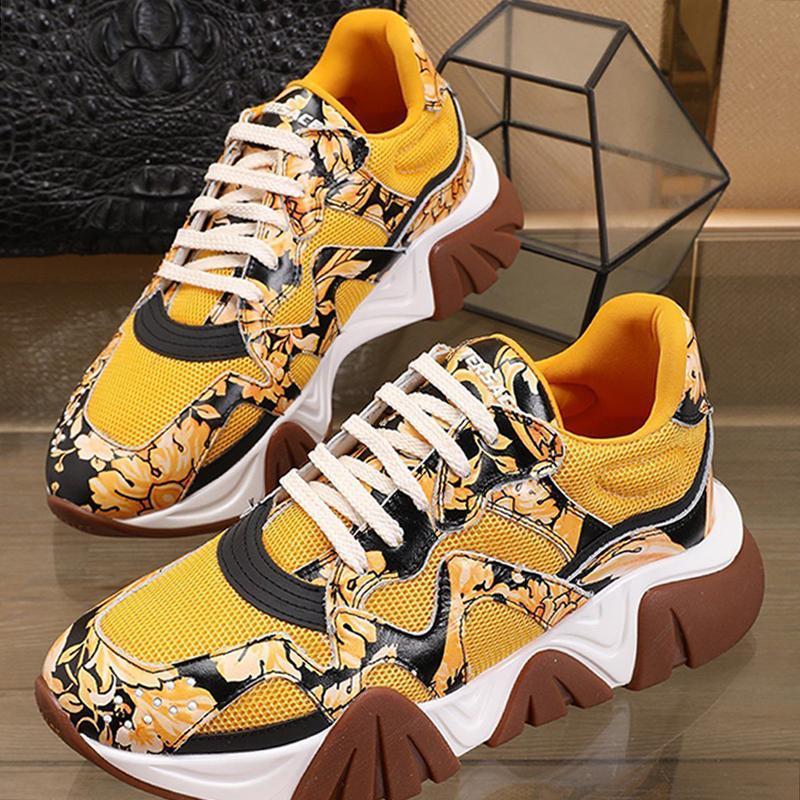 Мужская обувь высокого качества осень и зима люкс Footwears Squalo Кроссовки Low Top Lace -До Vintage Мужская обувь Zapatos De Lujo Para Hombre