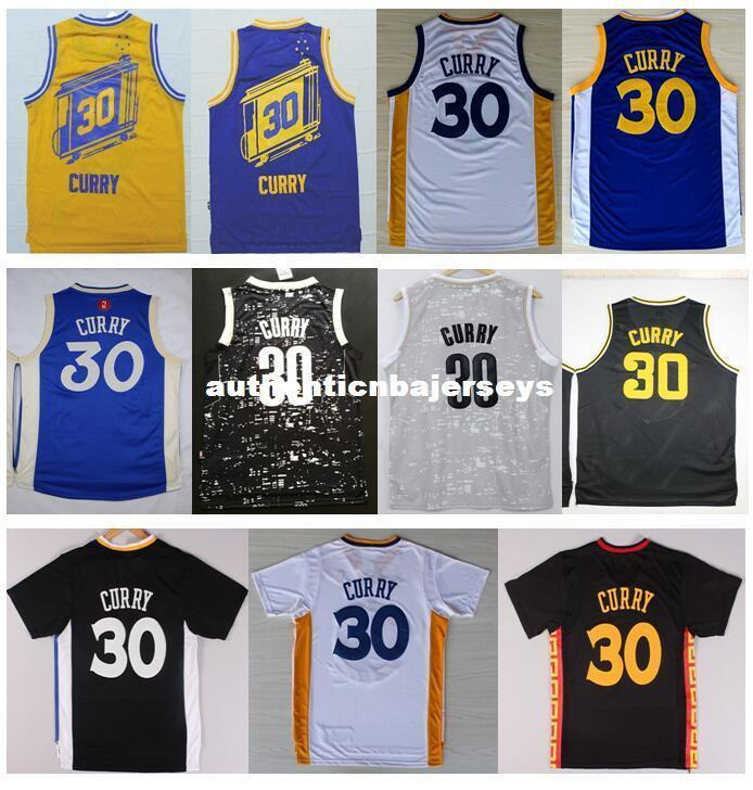 2021 Cheap New #30 S SC Jersey 2016 Best Quality Stitched Blue ...