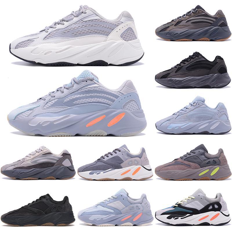 2020 Wave Runner 700 Blush Desert Rat Salz 700V2 Weiß Schwarz Laufschuhe Kanye West Männer Frauen Sneaker Sneaker Sportsportschuhe 36-45