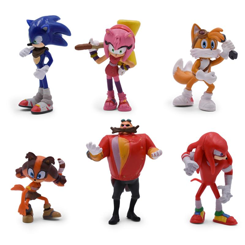 2020 Sonic Doll Anime Figure Toys 4st Generation Boom Rare