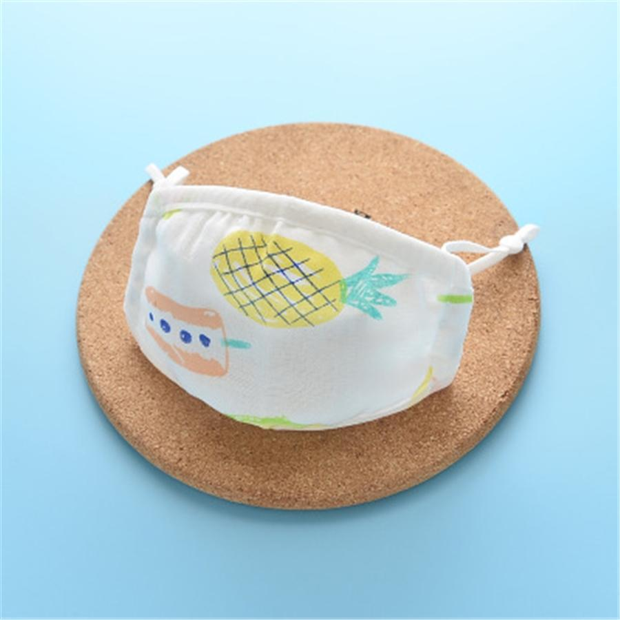 Luxury Fashion Er 4 Layers Folding Washable Designer Printed Face Mask Reusable Dust Mouth Particulate Protective Cotton Face M #249 #591