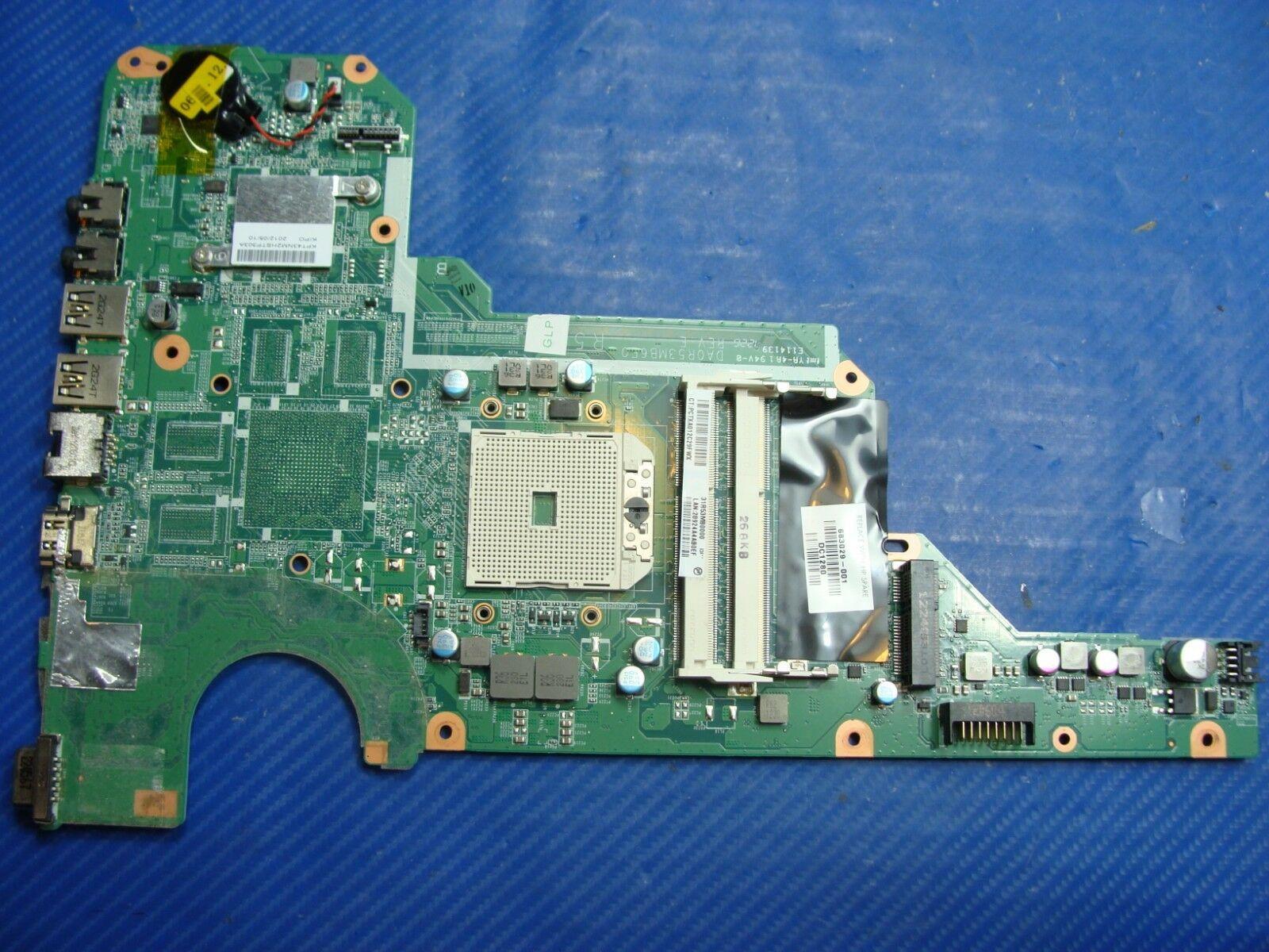 683029-501 683029-001 test complet pour Mainboard HP Pavilion G4-2000 G6 G6-2000 G7 Ordinateur portable mère DA0R53MB6E0 DA0R53MB6E1 100%