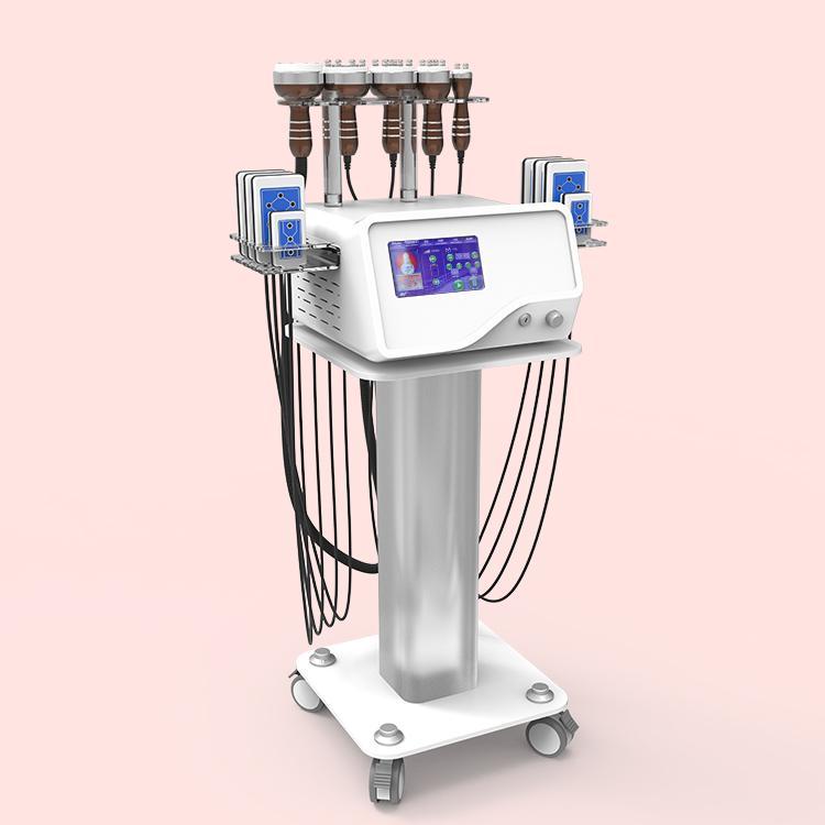 precio al por mayor 6 EN 1 máquina de la belleza Lipolaser cavitación vacío RF adelgazar belleza máquina de puerta a puerta el envío libre