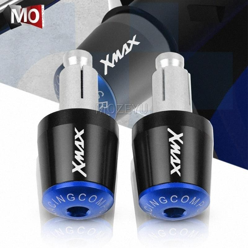 "7/8"" 22mm manillar de la motocicleta apretones Fin barra de la manija Tapa del extremo del enchufe para YAMAHA XMAX XMAX 125 250 300 400 XMAX125 XMAX250 XMAX300 BdSo #"