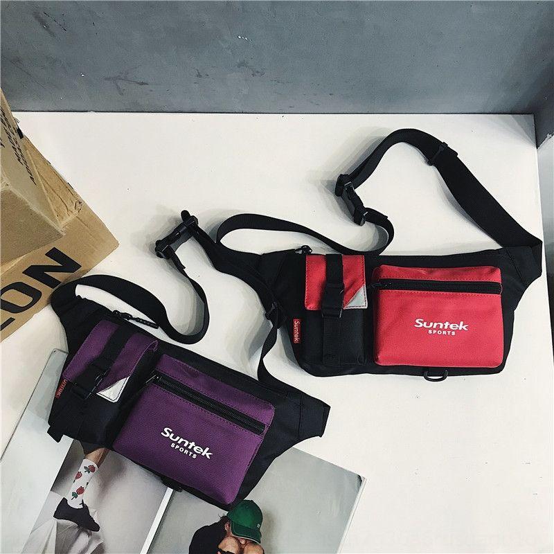 Mobil aşıklar moda serin su geçirmez omuz çok fonksiyonlu göğüs telefon omuz Telefon çantası çantası 2020 yeni erkek ve kadın spor