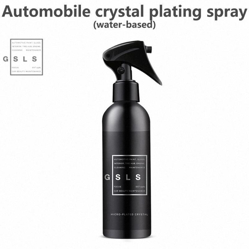 Araç bakım gereçleri 300ml Kristal Seramik Araç Kaplama Bakım Hidrofobik Kaplama Su geçirmez Çok Parlak Shine Liqui F3tk # Boya