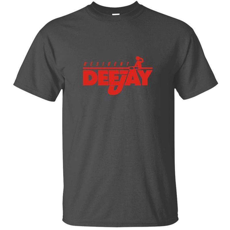 Designing Resident-DJ-T-Shirt für Männer O-Ausschnitt Baumwolle Female Comical T-Shirts Camisas Hemd-Qualität Short Sleeve