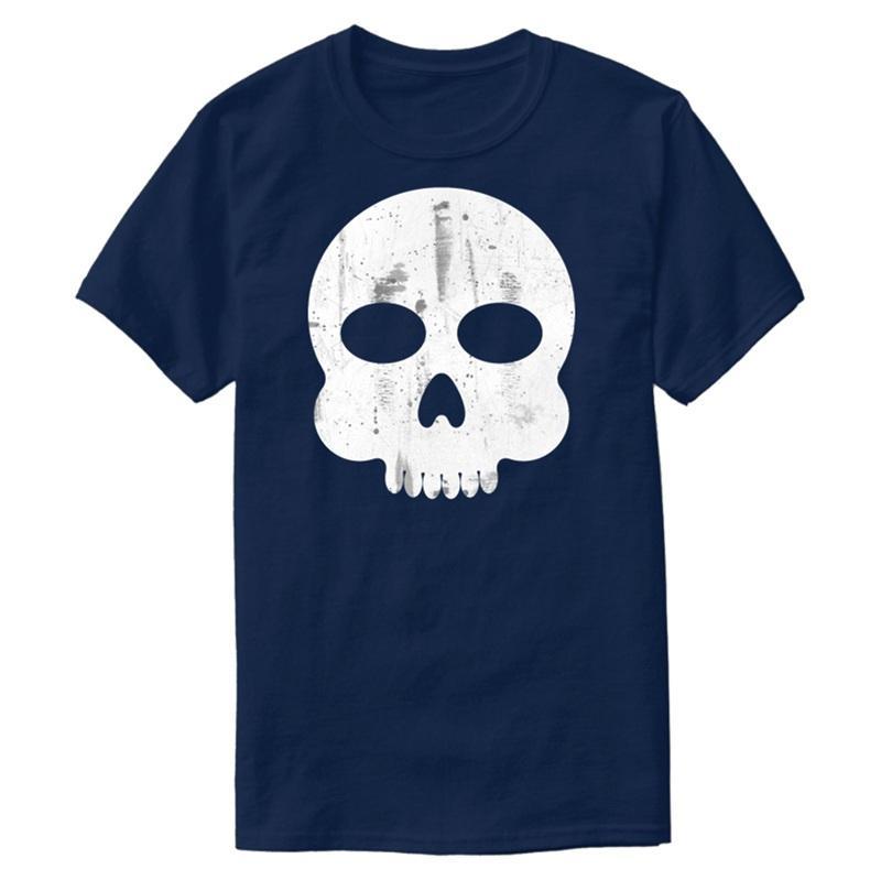 Divertente di personalità Comic Skull T shirt in cotone 100% Outfit Maschio comico uomini e le donne T-shirt più il formato S-5XL Top Tee