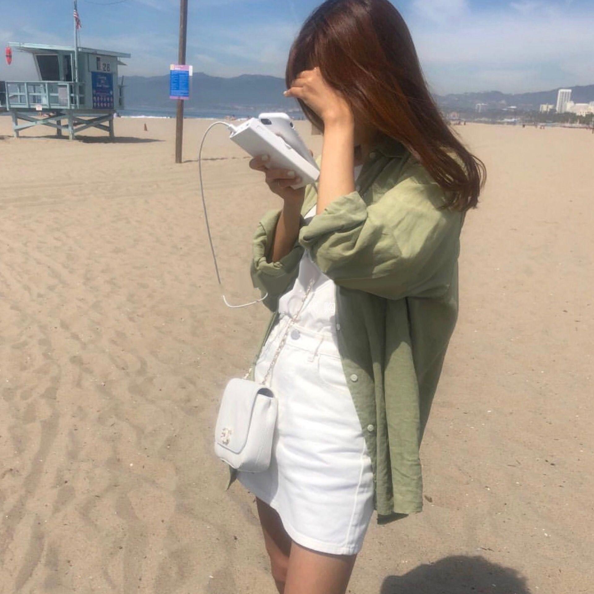 Estate 2020 nuovo temperamento stile coreano delle donne AkXIz protezione solare del tutto-fiammifero allentato di lunghezza media della camicia del cappotto della protezione solare a maniche lunghe abbigliamento s 5A88z