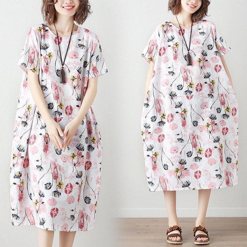 2020 2020 chegam novas de Verão vestido de maternidade Mulher Floral Imprimir Grandes Vestidos tamanho, com bolso mulher gravida Roupa MD 02341 yipe #