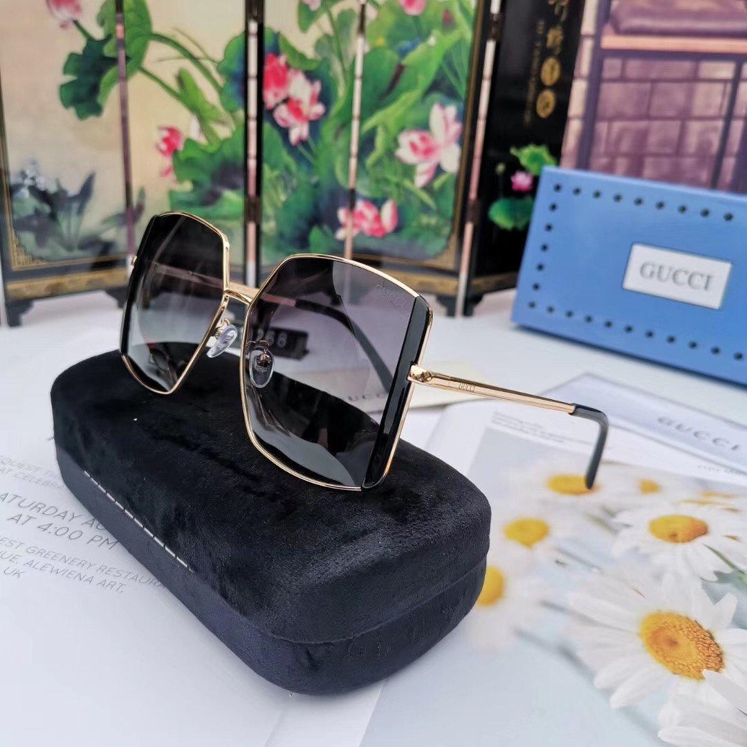 erkek tasarımcı güneş gözlüğü kadın tasarımcı boy erkekler des lunettes de soleil güneş gözlüğü havacı polarize kedi gözü Gucci F5 gözlük