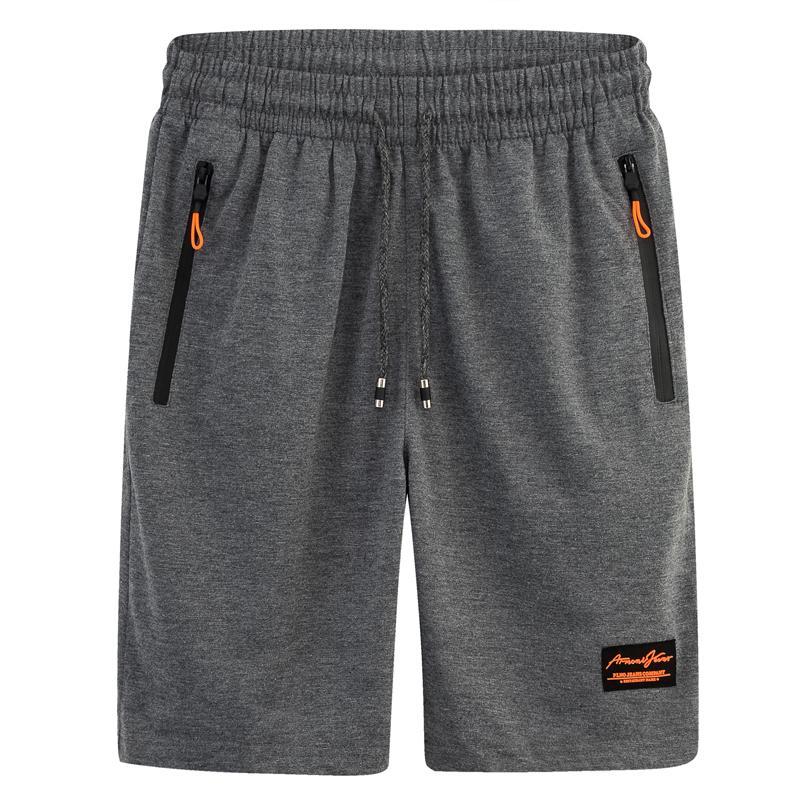 Pantalones cortos para hombres Ropa de verano Hombre Medio medio de la rodilla Longitud de la rodilla recta media Elástica Cintura Quick Playa Tamaño M L -5XL 6XL