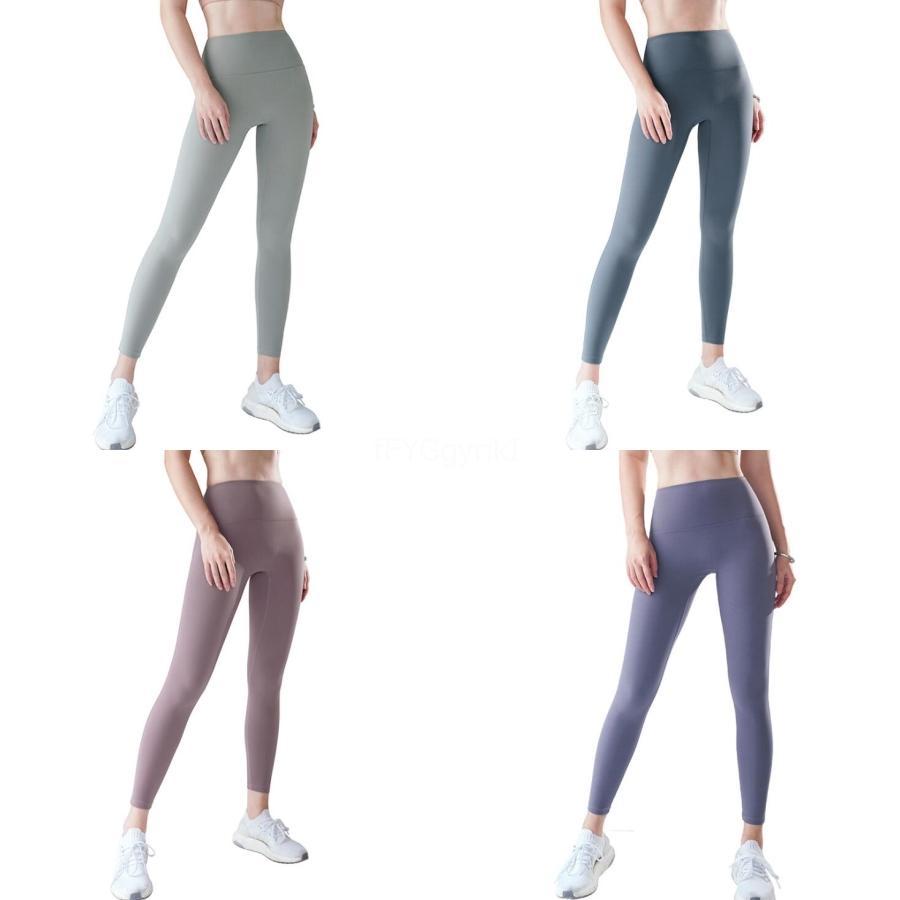 Ropa interior de fitness Legging Igh de la cintura de las nuevas mujeres polainas aptitud aventura remiendo grueso Legging elástico del cordón largo polainas Sporting Worko # 561