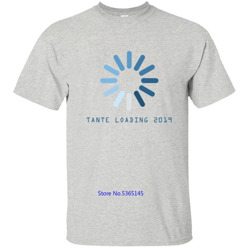 Baskı Bebek Is Yükleme Boy Kız Teyze Duyuru Hediye Erkek Tişört Erkek T Shirt Tişört İçin Erkekler Temel Katı O-Boyun Spor 2020