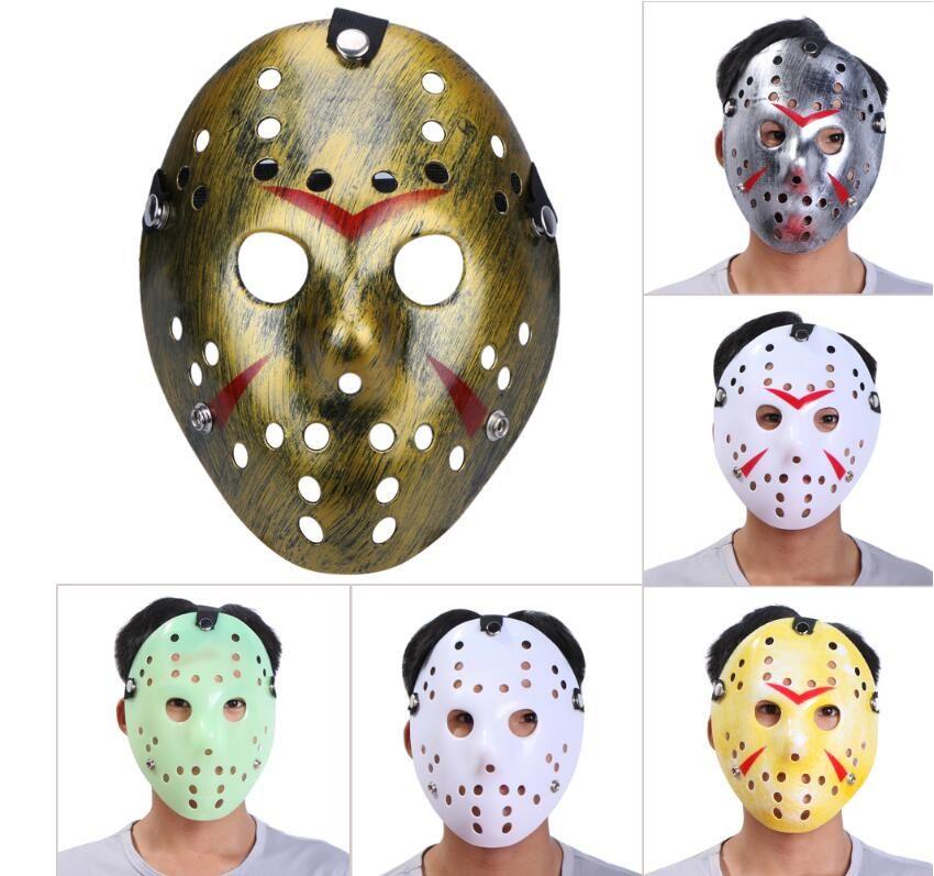 Джейсон Маски для Хэллоуина Маска для лица Костюм партии Cosplay Horror Хоккейной Косплей Maske Хэллоуин убийцы