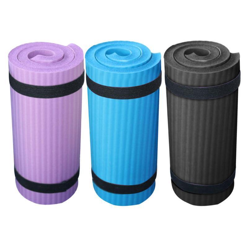 Joelho exercitador equipamentos de ginástica Treinamento NBR Sports Cotoveleira Outdoor Training Exercício de Fitness Pilates Yoga Mat 60 x 25 x 1,5 centímetros