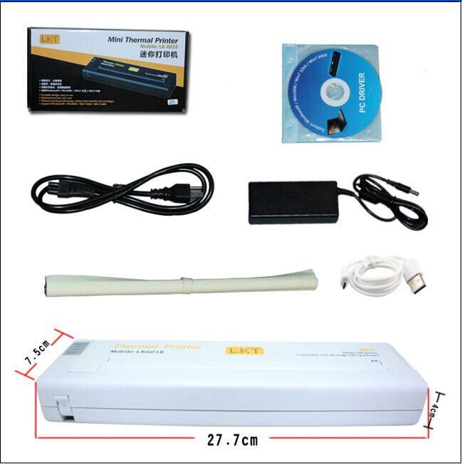 مصغرة USB الوشم الاستنسل نقل صانع الطابعة الحرارية A4 ناسخة آلة الطباعة الأبيض أو اللون الأسود