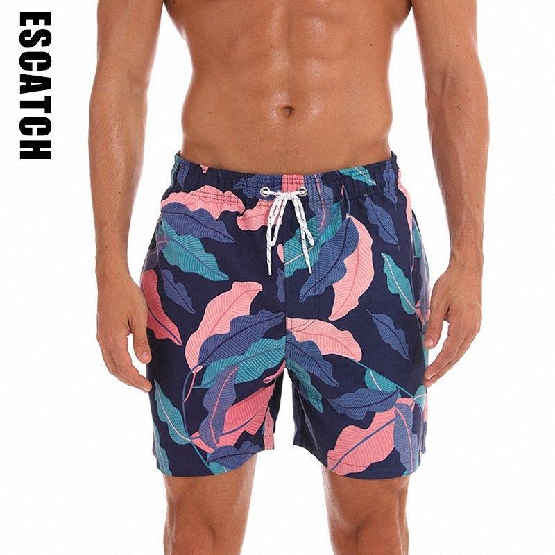 Estate mens di stampa pensione Spiaggia del costume da bagno da surf palestre Sport Jogging Fitness Shorts Quick Dry Maschio Pantaloncini Sport pantaloni di scarsità uomini q1J2 #