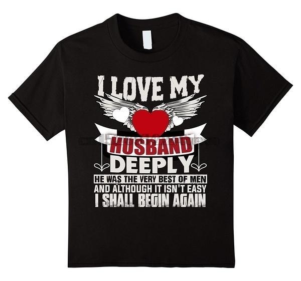 Amo a mi marido profundamente camiseta de los hombres marido camiseta