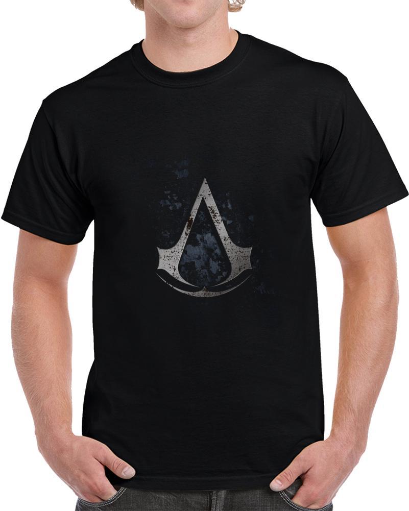 Tshirt T Shirt Assassin 's Creed Unità Selve uomini della maglietta T-shirt