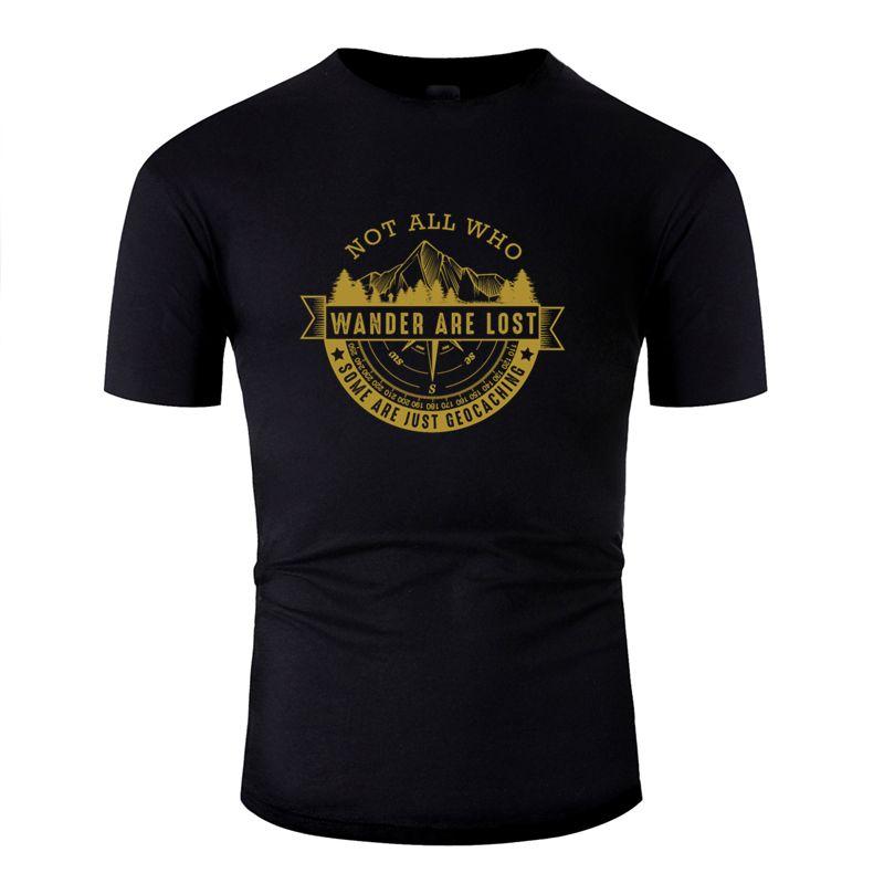 Шею Смешной Geocachers Футболка 2019 Sunlight Большой размер S ~ 5xl отдыха Мужчины T-Shirt Удивительный Смешные Hip Hop
