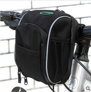 Bsoul Велосипедная емкость Автомобильная руль Большой Водонепроницаемый Передний Велоспорт Складной Складной Сумка Голова Велосипедная сумка QPFWB