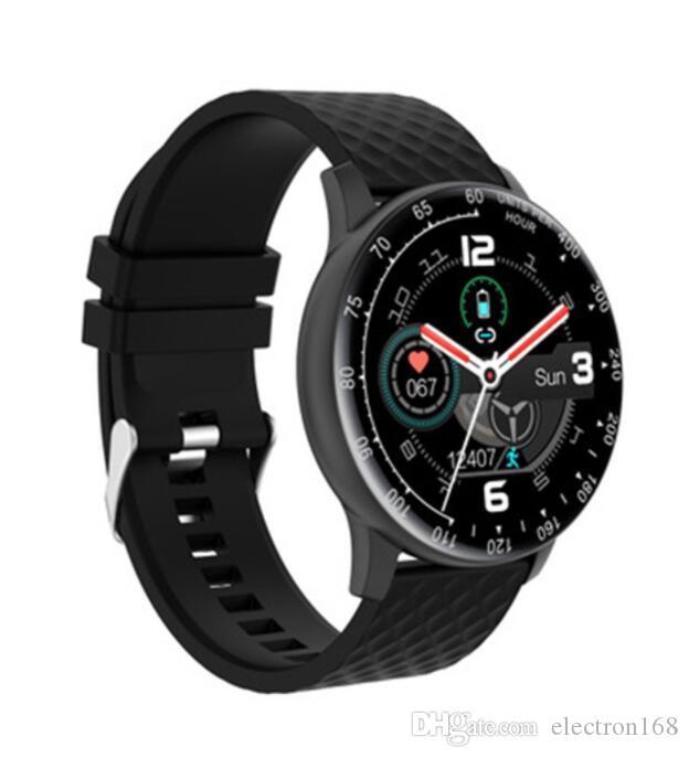 Новый смарт-часы H30 Bluetooth HD Full Screen SmartWatch с шагомер камера Mic Compaitable Android PK DZ09 U8 с розничной коробкой 10pcs DHL