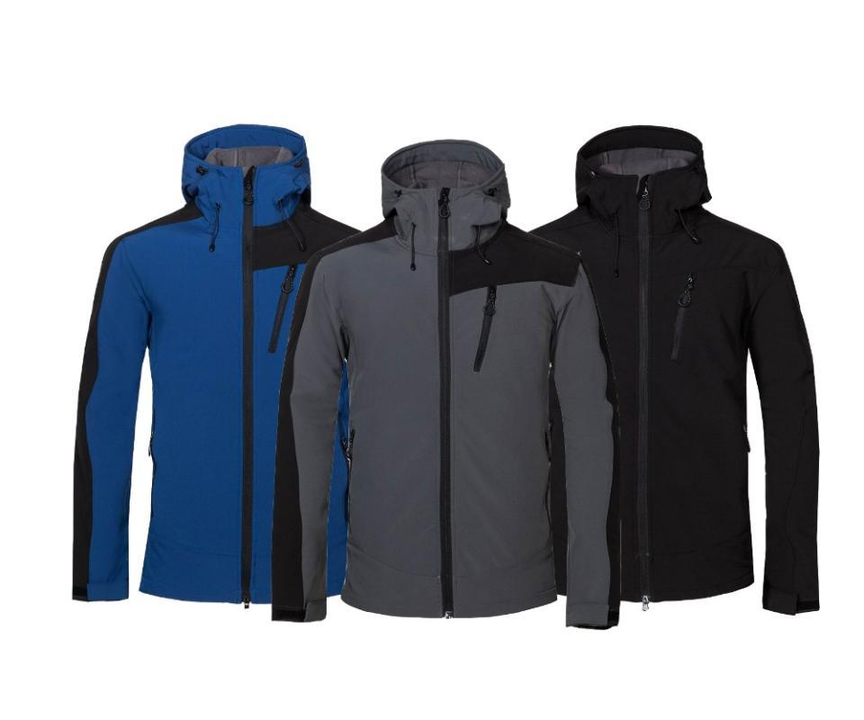 New men outdoor sports windproof waterproof soft shell camping hiking jacket fishing cycling suit