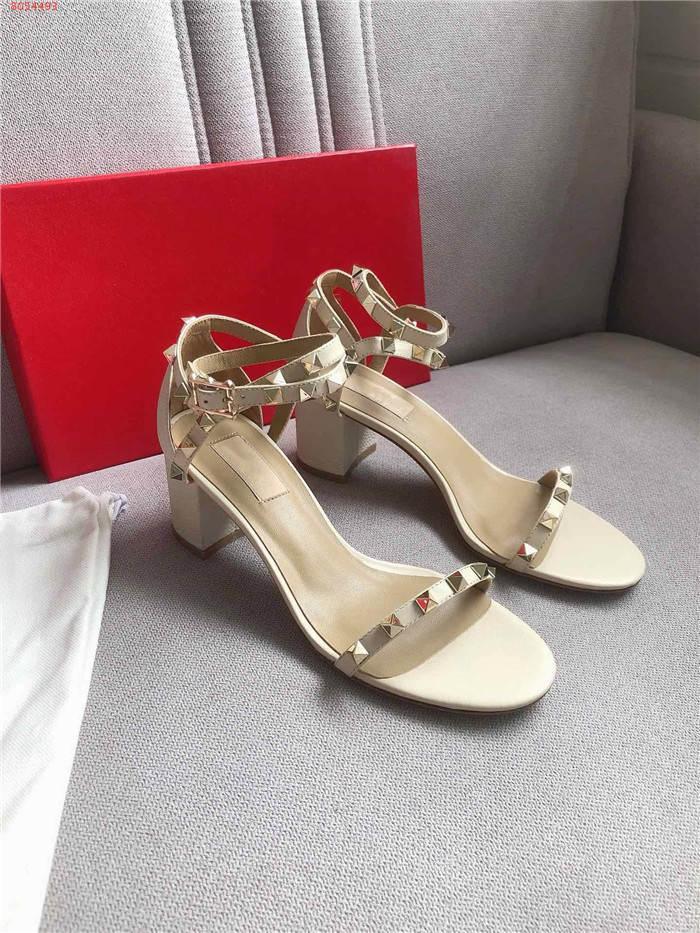 Metal Perçinler bant açık ağızlı sürüsü yüksek topuk sandalet kadın kekler ayakkabı kadın Çıtçıt toka askısı gladyatör elbise sandalias boyutu 35-40