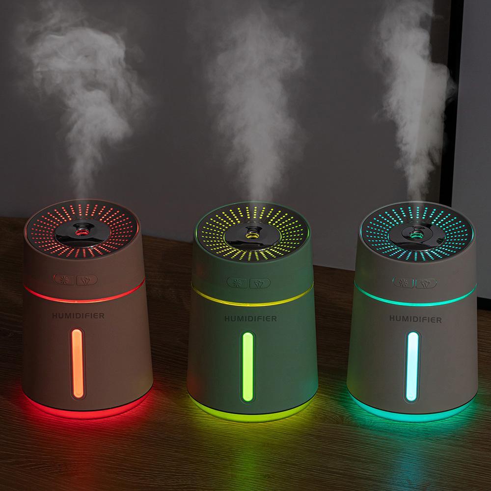 400ml USB humidificador de aire eléctrico del aroma aromaterapia esencial con la lámpara humidificador ultrasónico fabricante de la niebla para el hogar del coche
