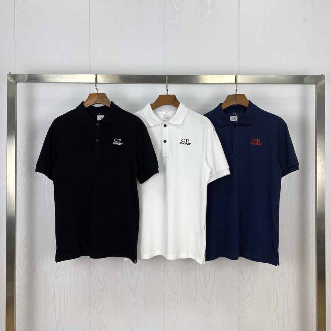 Frete grátis Designer camisetas CP Company Polos Marca Mens T Shirt Company Polos Para Homens Mulheres CP Outfit Luxo Tees Cp Jacket Top 2072306L