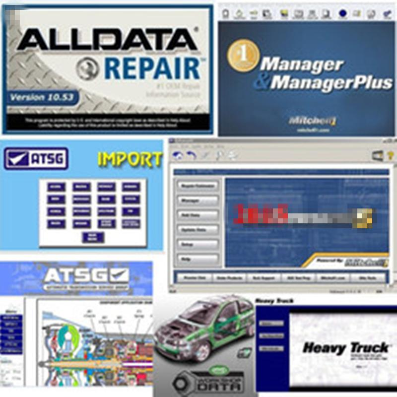 2019 Alldata newest version All data V10.53 and Mi...ll 2015 car repair data VIVID ATSG with 1TB hdd best quality