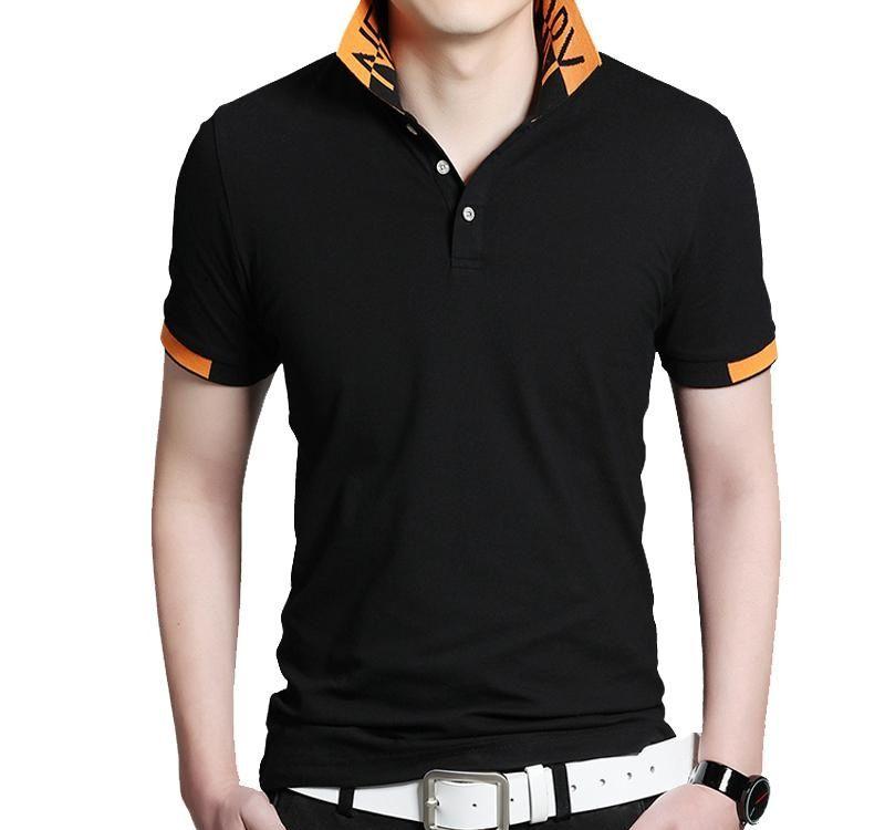 T shirt Uomo Casual BROWON Estate manica corta Turn-down Collar venduto Biglietti da Tee Tops T shirt oversize T2005289331 confortevole